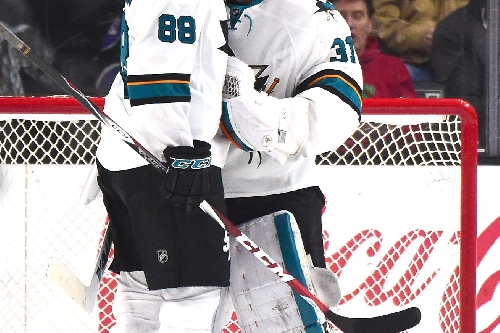 Quick Bite: Jones, Sharks steal win in Anaheim