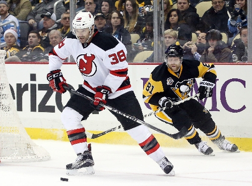 Devils center Vern Fiddler week-to-week with lower body injury
