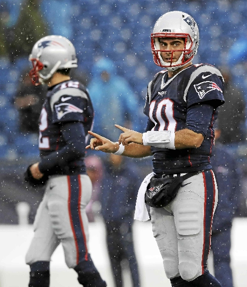 Report: Cleveland Browns can have Patriots quarterback Jimmy Garoppolo for first-and-fourth round draft picks
