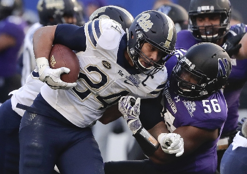 Jackson powers Northwestern past Pitt in Pinstripe Bowl The Associated Press