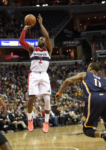 Wall scores 36 points as Wizards hold off Pacers, 111-105 The Associated Press