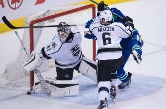 Miller has 36 saves to lift Canucks over Kings 2-1