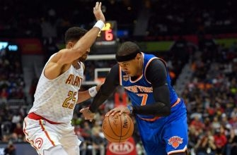 Carmelo Anthony ejected after review shows him clocking Thabo Sefolosha