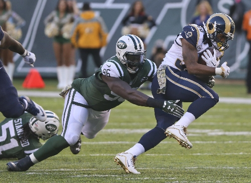 Jets' Wilkerson: There was no plan for ankle entering season The Associated Press