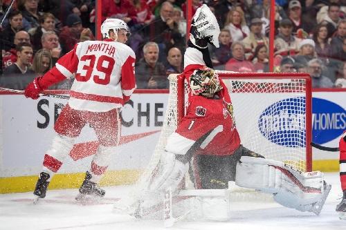 Wings Take Down Senators 3-2 in OT