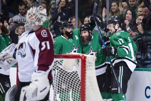 Dallas Stars Earn First Three-Game Streak, Best Avalanche 4-2