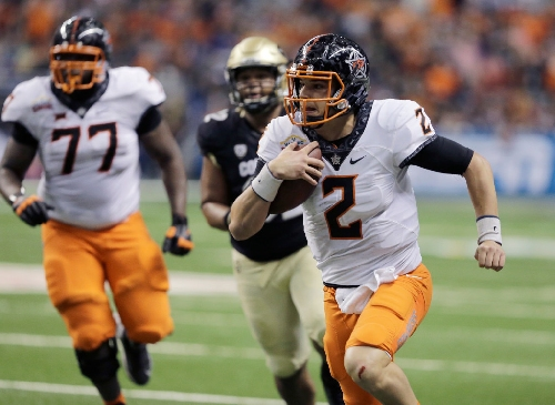 Mason Rudolph's big night leads Oklahoma State to big Alamo Bowl win over Colorado