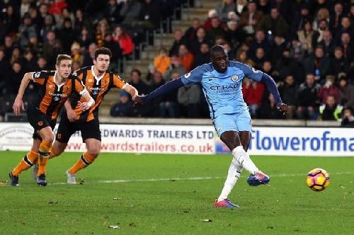 Man City star Yaya Toure is best ever Premier League penalty-taker