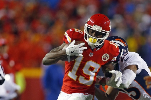 Jeremy Maclin's role can change week to week, just like the other Chiefs