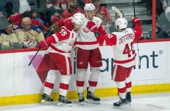 Red Wings Prevail Over the Ottawa Senators in Overtime