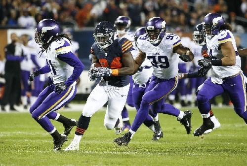 Howard, Bears to finish season against vexed Vikings The Associated Press