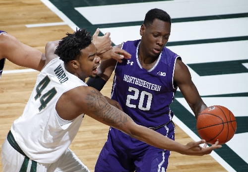 Michigan State jumps out early, beats Northwestern 61-52 The Associated Press