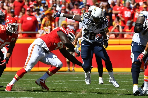 The Chiefs front seven has almost completely turned over from training camp