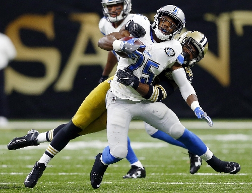 Lions' Riddick on injured reserve on eve of Packers game The Associated Press