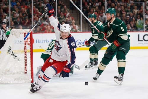 Wild finds finally finds formidable foe in 4-2 loss to Blue Jackets ending 12-game winning streak
