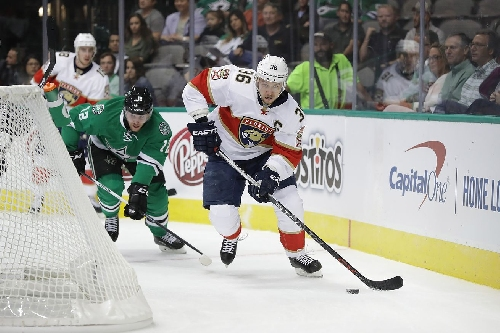 Panthers' Quick Start Topples Dallas Stars 3-1