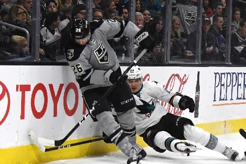 Sharks' loss to Kings snapped long streak