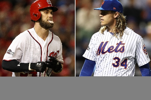 Noah Syndergaard calls Bryce Harper a 'douche' out of nowhere
