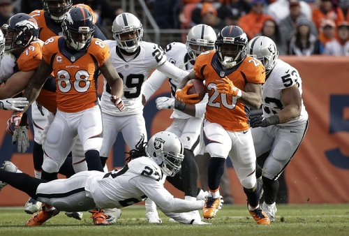 Raiders lose AFC West, another QB in 24-6 loss to Broncos The Associated Press