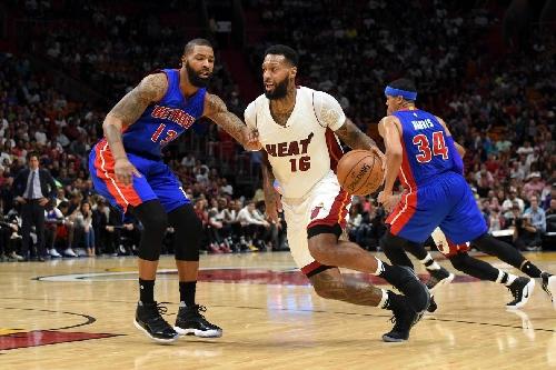 Heat fall to Pistons 107-98