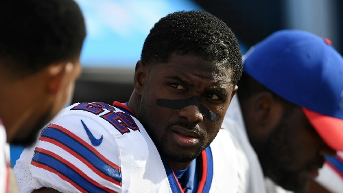 Bills' Reggie Bush crowned NFL's new negative rushing yards 'leader'