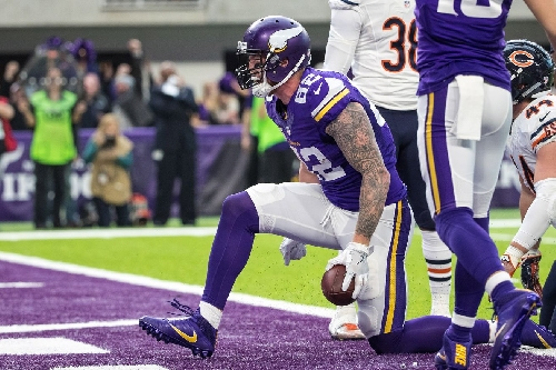Kyle Rudolph Sets Several Records In Vikings' Victory