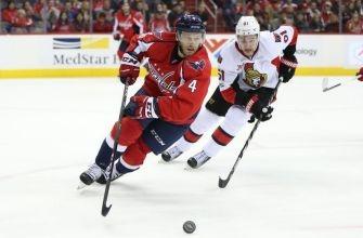 Senators fall to Capitals 2-1