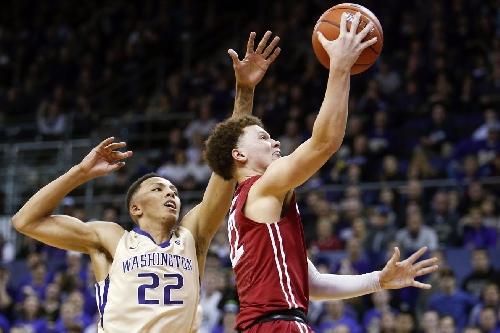 WSU vs. UW basketball: Cougs rally to beat Huskies in Seattle, 79-74
