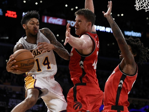 Unlikely Toronto Raptors duo steps up in Patrick Patterson's absence to slam door on Lakers