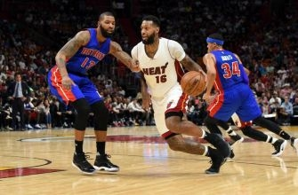 James Johnson continues to make his case to remain with the Miami Heat