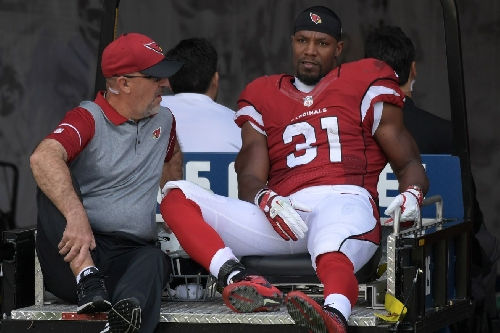 David Johnson has an MCL sprain; no surgery is required