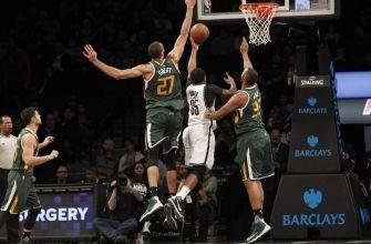 Utah Jazz Battle Back to Beat Trevor Booker, Brooklyn Nets