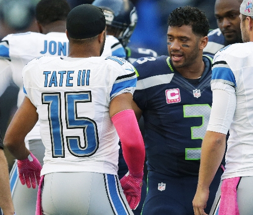 Golden Tate's Seahawks departure was partly miscommunication, Pete Carroll says