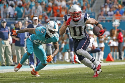 Patriots WR Julian Edelman was NFL's most productive receiver over 2nd half of season