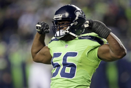 Coming off best season, Seahawks' Avril to face former team The Associated Press