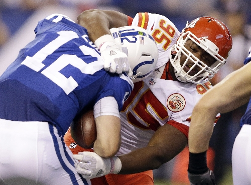 Second-round pick Chris Jones has solidified Chiefs defense The Associated Press