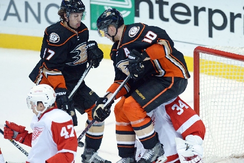 Game Day Updates: Red Wings at Ducks Line Combinations, Keys to the Game