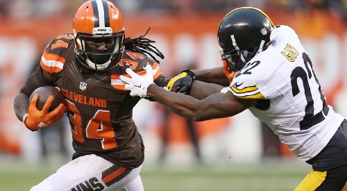 Browns RB Isaiah Crowell voted FedEx Ground NFL Player of the Week