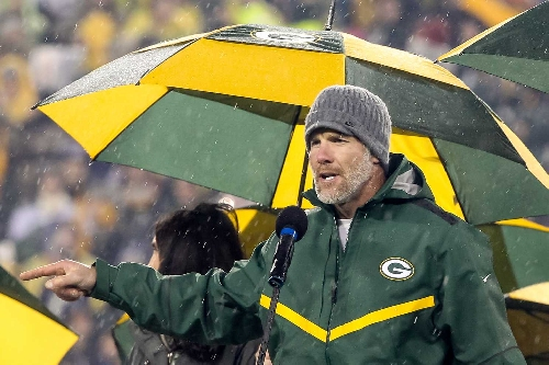 Brett Favre says the Green Bay Packers 'will be in the Super Bowl'