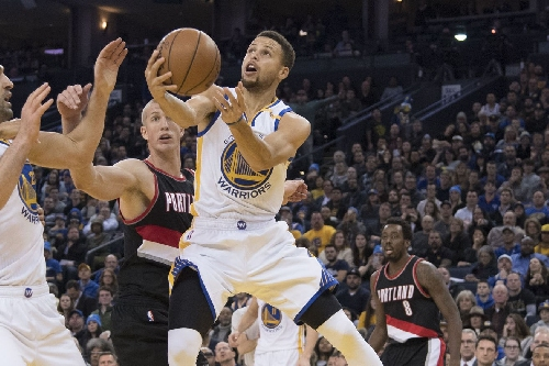Warriors open and close strong against feisty Blazers – Golden State beats Portland 125-117