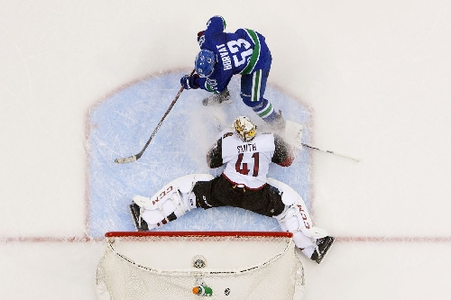 Game Recap: Coyotes Give The Canucks Five