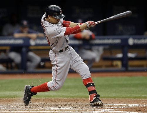 Mookie Betts, Boston Red Sox RF, to be honored as team MVP at Boston Dinner; Pete Frates to receive Lifetime Achievement Award
