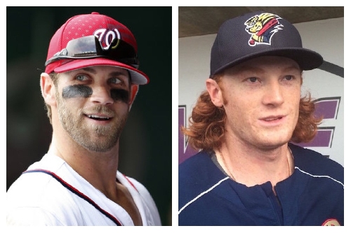 Did Yankees' Clint Frazier just try recruiting Bryce Harper again?