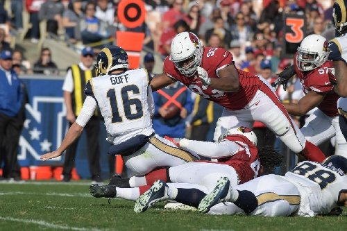 Calais Campbell and David Johnson are All Pro's with Pro Football Focus