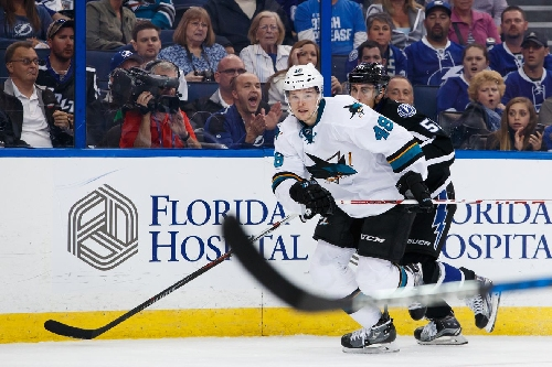 Report: Tomas Hertl out until mid-February