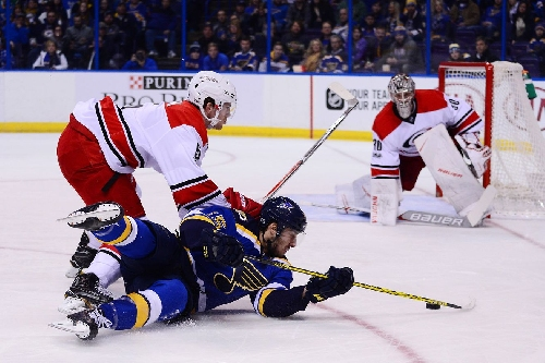 Recap: Carolina Hurricanes snap losing streak in 4-2 win over St. Louis Blues