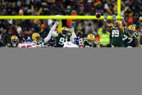 Remembering redemptive kick that sent Giants to Super Bowl XLII