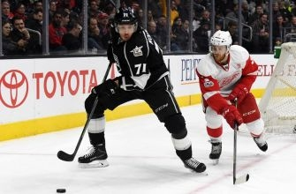 Los Angeles Kings Get Dominated by Detroit Red Wings 4-0