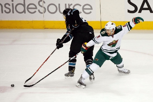 Wild storm back on Sharks, beat them in San Jose 5-4