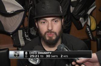 Drew Doughty postgame (1/5)
